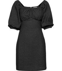 adely dress dresses jeans dresses zwart blanche