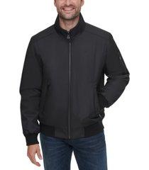 calvin klein men's ripstop bomber jacket