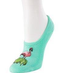 flamingo terry women's slipper socks