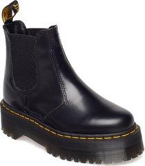 2976 quad shoes chelsea boots svart dr. martens