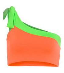 top duo color neon carnaval - laranja