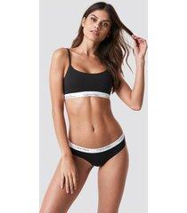 calvin klein bikini one cotton - black