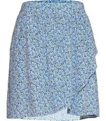 fadea jalina skirt aop skirts wrap skirts blå moss copenhagen