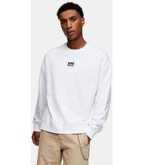 mens berlin sweatshirt in white