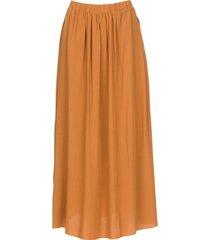 maxi rok met zakken rosita  brown