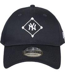 bonã© kings sneakers new era new york yankees marinho - unico - azul marinho - dafiti