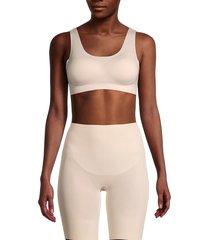 le mystere women's smooth shape wireless bra - shell - size xxl