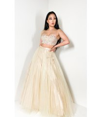 akira everything you wanted tulle maxi skirt