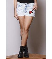 short jeans rose