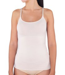 camiseta lady genny control nude - calce ajustado