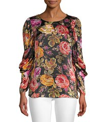 hailee floral blouse
