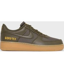 nike sportswear air force 1 gtx sneakers olive