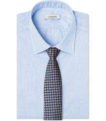 cravatta su misura, lanieri, vienna marrone, quattro stagioni | lanieri