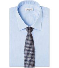 cravatta su misura, lanieri, vienna marrone, quattro stagioni
