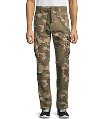 camouflage cotton cargo pants
