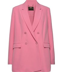 cheryl blazer blazer colbert roze guess jeans