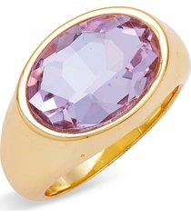 short & suite candy crystal ring, size 8 in grape purple at nordstrom