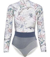 searchers uv surfsuit baddräkt badkläder multi/mönstrad rip curl