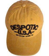 gorra amarilla vinson despotic