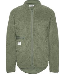 original fleece jacket. sweat-shirts & hoodies fleeces & midlayers grön resteröds