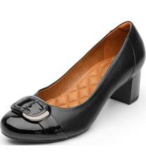 zapato cuero formal negro nany flexi