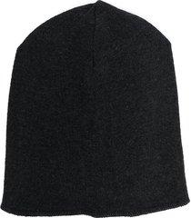 zhoe & tobiah fine knit beanie - grey