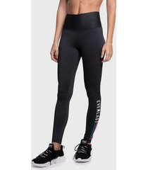 legging everlast long line gris - calce ajustado