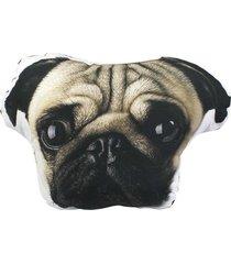 almofada formato cachorro pug