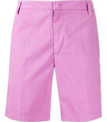 dondup manheim straight-leg bermuda shorts - pink