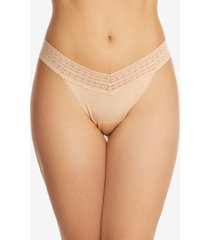 hanky panky women's one size dream original rise thong underwear