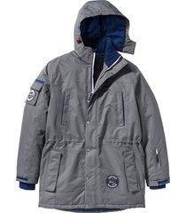 giacca tecnica  lunga (grigio) - bpc bonprix collection