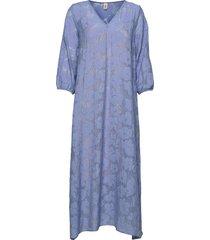 floret celia dress dresses everyday dresses blå becksöndergaard