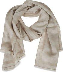 max mara fringed edge scarf