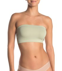 free people intimately fp nina bandeau bralette, size small in matcha at nordstrom