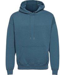 anf mens sweatshirts hoodie blå abercrombie & fitch