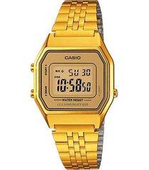 reloj casio la-680wga-9d digital 100% original-cafe