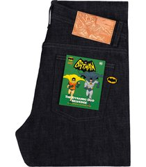 naked and famous easy guy the dynamic duo selvedge denim jeans   indigo   bat717406-ind