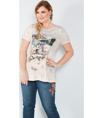shirt sara lindholm wit::beige
