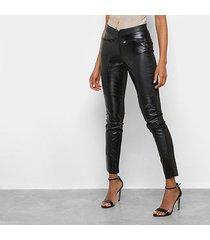 calça legging acostamento zíper feminina