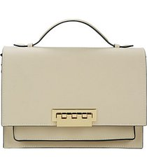eartha accordian leather shoulder bag
