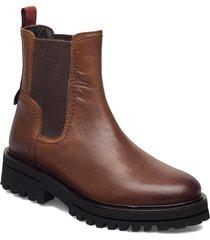 licia 8b shoes chelsea boots brun marc o'polo