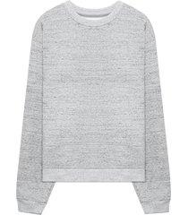 john elliott beach fleece sweatshirt - grey