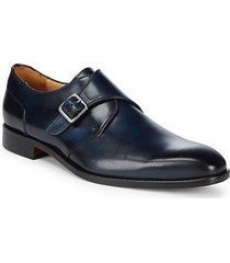 leather monk dress shoes