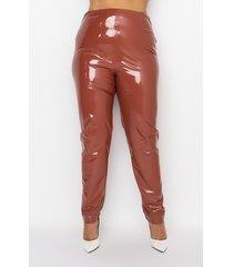 akira plus don't be pressed vinyl leggings
