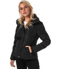 elle womens giselle jacket size 16 in black