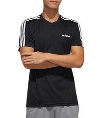 t-shirt adidas designed 2 move 3-stripes tee fl0349