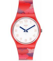 reloj heart lots rojo swatch
