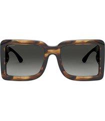 burberry burberry be4312 brown sunglasses