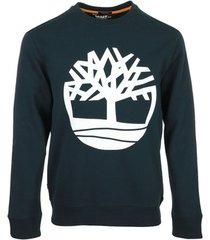 sweater timberland core tree logo crew