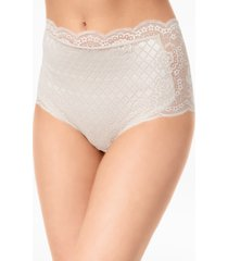 leonisa tummy-compression lace panty 012938